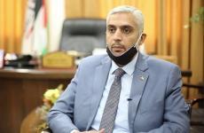 سلامة معروف رئيس المكتب الإعلامي الحكومي في غزة.JPG