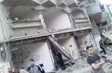 آثار القصف على شوارع شمال قطاع غزة (11).jpeg