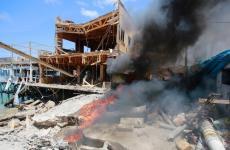 قصف منشآت سياحية.jpg