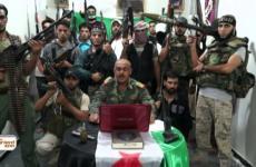 عناصر في جيش التحرير الفلسطيني
