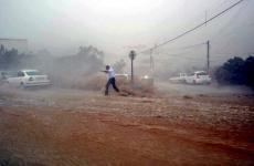 صورة للعاصفة