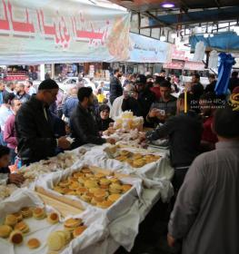 أجواء رمضان في غزة