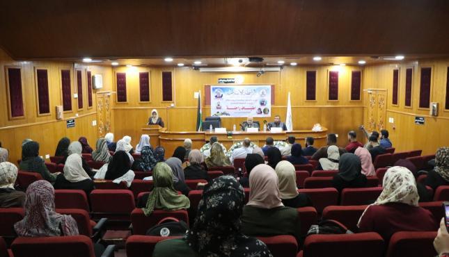 حفل تأبين تنظمه الرابطة الإسلامية لشهداء الجامعة الإسلامية بغزة (29732748) .jpg