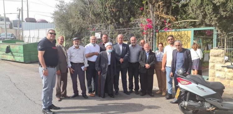 شخصيات إسلامية ووطنية تدعو الأردن لمجابهة مخططات الاحتلال في الأقصى.jpg