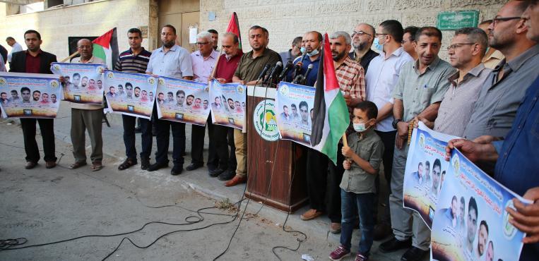 لجنة الأسري للقوي الوطنية والاسلامية تعقد مؤتمر حول أخر المستجدات فى سجون الاحتلال